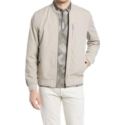 テッドベーカー TED BAKER LONDON メンズ ジャケット アウター Bars Canvas Jacket Stone