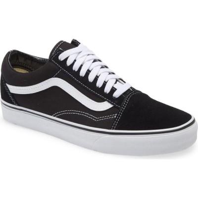 ヴァンズ VANS メンズ スニーカー シューズ・靴 Old Skool Sneaker Black Canvas