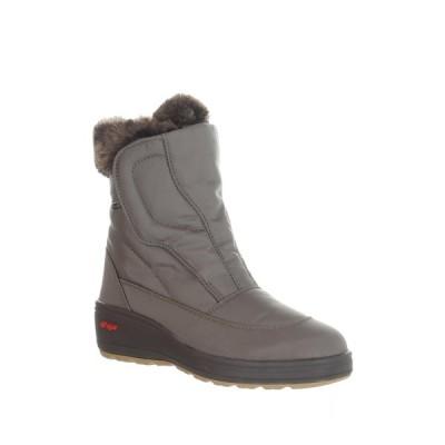 パジャール レディース ブーツ&レインブーツ シューズ Kimmi 2 Faux Fur Lined Waterproof Boot GREY