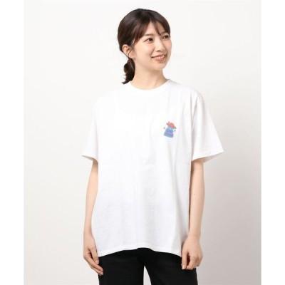 tシャツ Tシャツ LID BREAK × DISCUS HOUSTON TEE