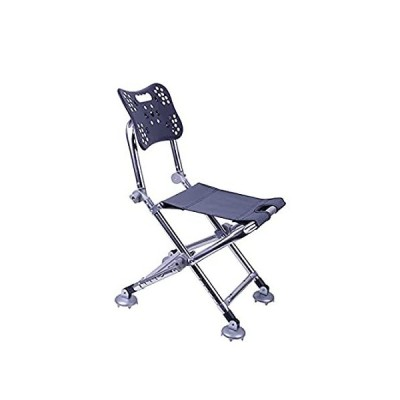 DALIZHAI777 Camping Chairs Fishing Chair with Adjustable Back Legs and Lift 並行輸入品