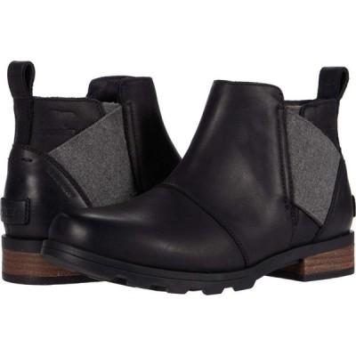 ソレル SOREL レディース シューズ・靴 Emelie Chelsea Black 1
