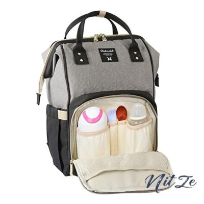 マザーズバッグ リュック 大容量 保温ポケット 盗難防止ポケット付き 多機能 ベビー用品収納 バッグ 通勤 旅行
