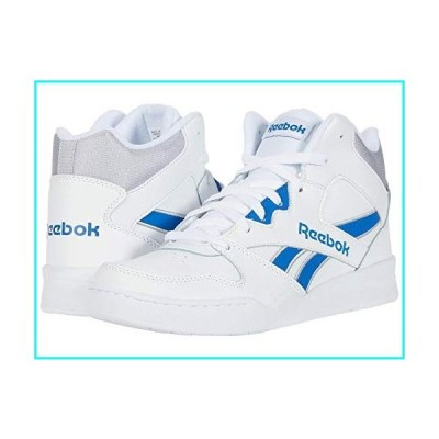 Reebok Men's Royal BB4500 HI2 Sneaker, White/Humble Blue/Cold Grey