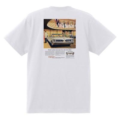 アドバタイジング ポンティアック 440 白 Tシャツ 黒地へ変更可能 1959 ボンネビル スターチーフ カタリナ ホットロッド ローライダー