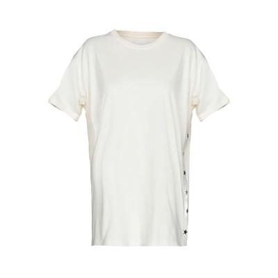 GAëLLE Paris T シャツ アイボリー 1 コットン 100% T シャツ