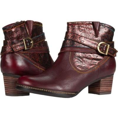 スプリングステップ L'Artiste by Spring Step レディース シューズ・靴 Shazzam-Rose Bordeaux Multi