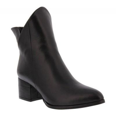 スプリングステップ Spring Step レディース ブーツ ショートブーツ シューズ・靴 Priscila Ankle Boot Black Leather