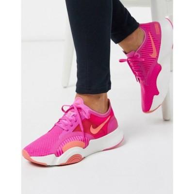 ナイキ Nike Training レディース スニーカー シューズ・靴 Superrep Go Trainers In Pink ピンク