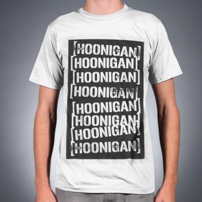 フーニガンケンブロック スタンプリピート Tシャツ HOONIGAN