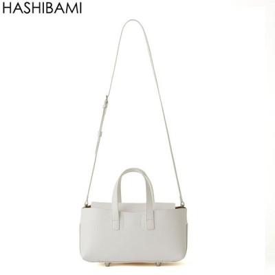 Hashibami ハシバミフェズ ランド スケープ バッグ  Fez ホワイト送料無料 5のつく日 +4%