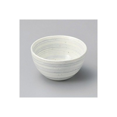 うず粉引グレー3.0深鉢 15160-270