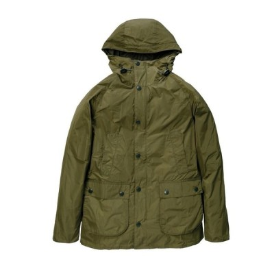 Barbour(バブアー)HOODED BEDALE SL SHAPE MEMORY セージ MCA0565