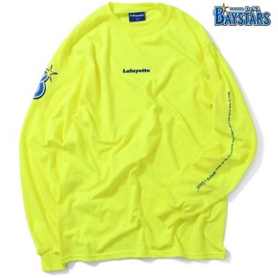 ベイスターズ ラファイエット Lafayette 横浜DeNA BAYSTARS 長袖 Tシャツ ロンT メンズ ストリート LOGO SKY'S THE LIMIT L/S TEE LE190109 GREEN