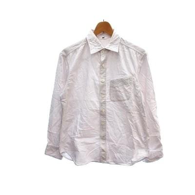 【中古】フォーティーファイブアールピーエム  45R 45rpm シャツ 長袖 2 ピンク /AU メンズ 【ベクトル 古着】
