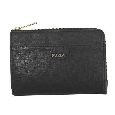 フルラ FURLA カードケース コインケース 小銭入れ PCL8 1045941 BABYLON M CREDIT CARD CASE バビロン クレジットカードケース ONYX ブラック
