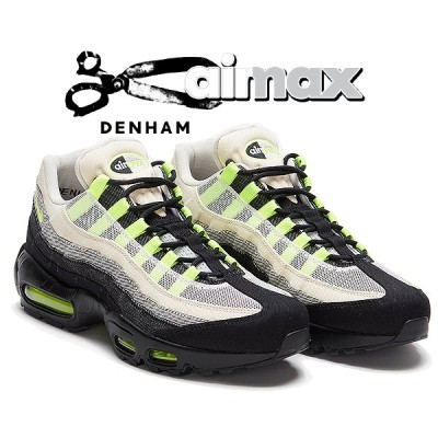 ナイキ エアマックス 95 デンハム NIKE AIR MAX 95 DENHAM black/volt-summit white dd9519-001 スニーカー デニム