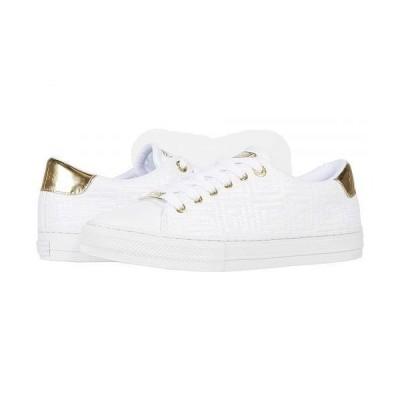 GUESS ゲス レディース 女性用 シューズ 靴 スニーカー 運動靴 Lodenn - White