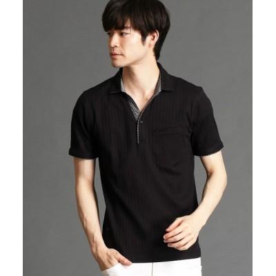 NICOLE / スキッパ-ポロシャツ MEN トップス > ポロシャツ