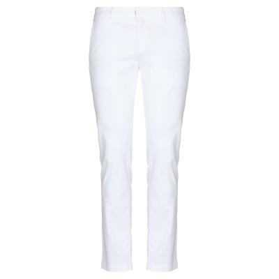 メゾン クロシャード MAISON CLOCHARD パンツ ホワイト 30 コットン 68% / テンセル 30% / ポリウレタン 2% パンツ
