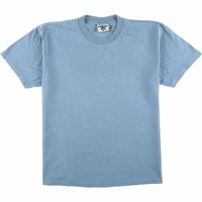 90年代 リー Lee 無地Tシャツ USA製 メンズL /eaa071208
