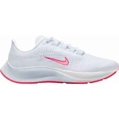 ナイキ レディース スニーカー シューズ Nike Women's Air Zoom Pegasus 37 Running Shoes White/Sunset Pulse