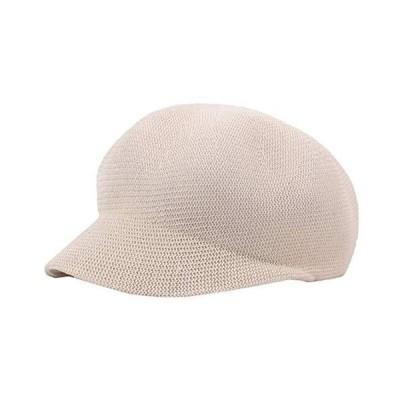 WHITE FANG(ホワイトファング) キャスケット 帽子 麦わら メッシュ 編み込み キャップ おしゃれ レディース CA191 (04