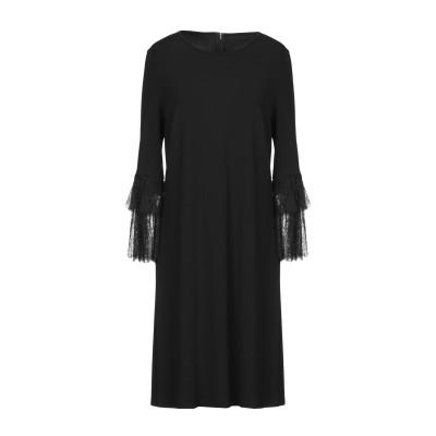 マイケル・コースコレクション MICHAEL KORS COLLECTION ミニワンピース&ドレス ブラック 10 レーヨン 95% / ポリウレ