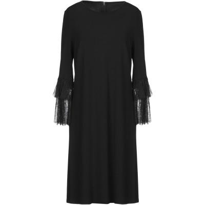 マイケル・コースコレクション MICHAEL KORS COLLECTION ミニワンピース&ドレス ブラック 8 レーヨン 95% / ポリウレタ