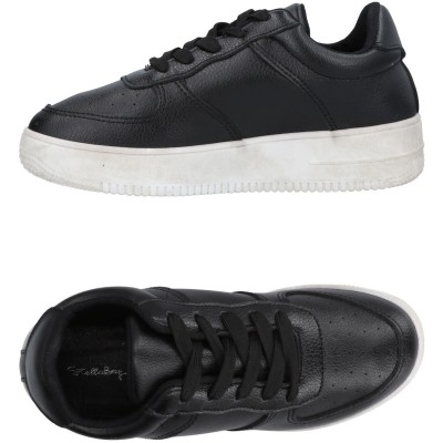 STELLABERG スニーカー&テニスシューズ(ローカット) ブラック 37 紡績繊維 スニーカー&テニスシューズ(ローカット)