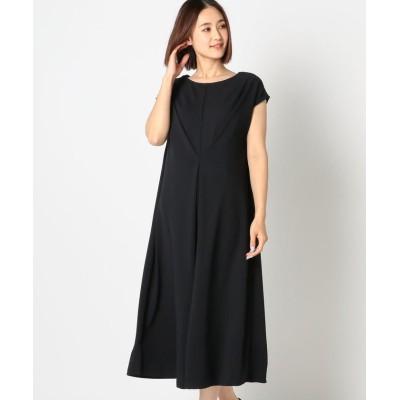 【ミューズ リファインド クローズ】 2WAYタックカットワンピース レディース ネイビー M MEW'S REFINED CLOTHES