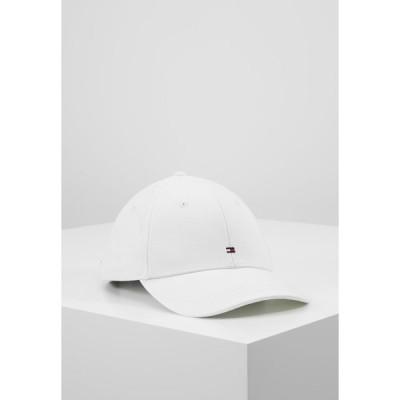 トミー ヒルフィガー 帽子 メンズ アクセサリー CLASSIC - Cap - white
