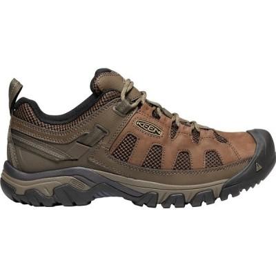 キーン ブーツ&レインブーツ シューズ メンズ KEEN Men's Targhee Vent Hiking Shoes Cuban/AntiqueBronze