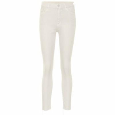 マザー Mother レディース ジーンズ・デニム ボトムス・パンツ Looker high-rise skinny jeans CCK Chalk