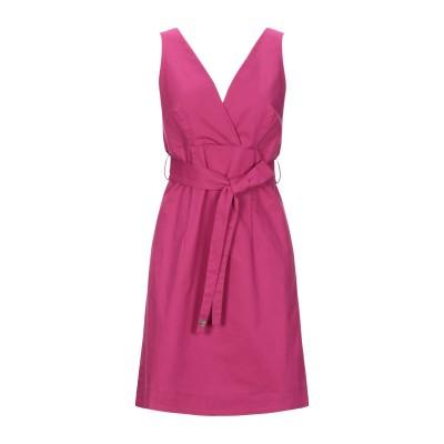 ツインセット シモーナ バルビエリ TWINSET ミニワンピース&ドレス ライトパープル L コットン 97% / ポリウレタン 3% ミニワンピ