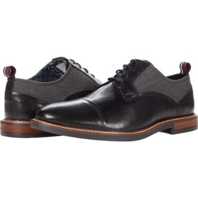 ベンシャーマン Ben Sherman メンズ 革靴・ビジネスシューズ シューズ・靴 Brent Cap Toe Black Leather