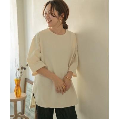 ITEMS URBAN RESEARCH / ロングルーズTシャツ WOMEN トップス > Tシャツ/カットソー