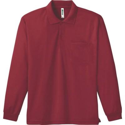 ポロシャツ 長袖ポロシャツ メンズ レディース 仕事 ビジネス ビッグサイズ 男 女 ボタンダウン 大きい ドライ 介護 作業 制服 ポケット