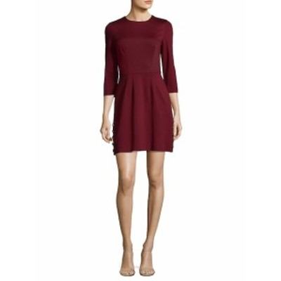 トリーナ ターク レディース ワンピース Button Side Mini Dress