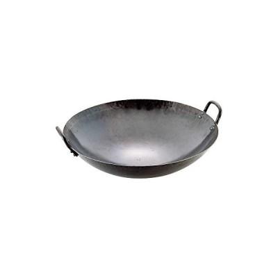 山田工業所 中華鍋 鉄製 42cm 打出し 板厚1.2mm