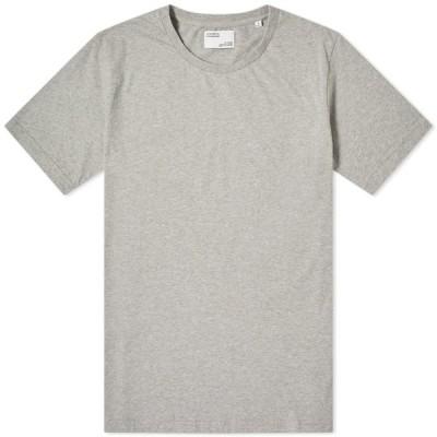 カラフルスタンダード Colorful Standard メンズ Tシャツ トップス Classic Organic Tee Heather Grey