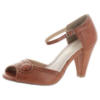 ハイヒール 海外直輸入ブランド Restricted Dorothy Peep Toe Dress Heels Pumps Shoes Vintage