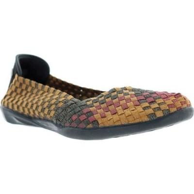 ベルニー メイヴ Bernie Mev レディース スリッポン・フラット シューズ・靴 Catwalk Sunset Mix Shimmer Handwoven