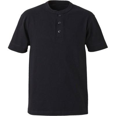 5.6オンス ヘンリーネックTシャツ  UnitedAthle ユナイテッドアスレ カジュアルハンソデTシャツ (500401-2)