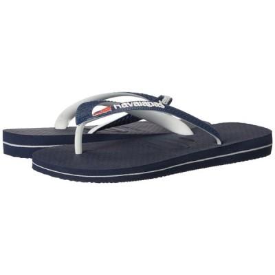 ハワイアナス Havaianas レディース ビーチサンダル シューズ・靴 USA Logo Sandal Navy Blue