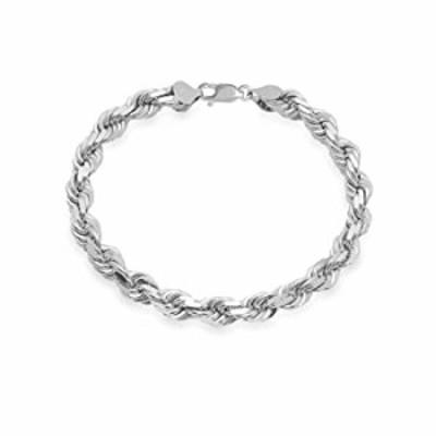 Mens Italian 925 Sterling Silver Diamond Cut Rope Chain Necklace, 5MM, 6MM, 7.5MM,8.5MM- Mens Rope Chain, Sterling Silver Rope C