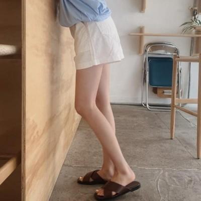 HEYLADY レディース ショートパンツ Daimo cotton short pants