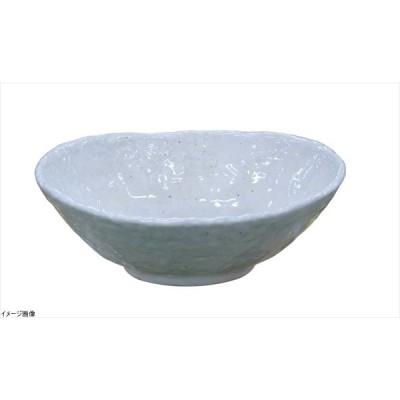 モダンホワイト 楕円鉢 小