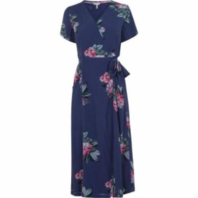ジュールズ Joules レディース ワンピース ワンピース・ドレス Callie Print Floral Blue