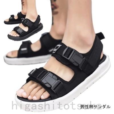 サンダル メンズ ビーチサンダル 厚底 シューズ 夏物 ビーサン 男性用 靴 カジュアル くつ リラックス オシャレ
